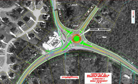 Sandtown Roundabout Picture